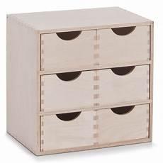 6er Schubladenelement Holz Unbehandelt Schubladen Regal