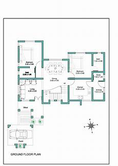 plan of houses in kerala contemporary kerala house plan at 2000 sq ft