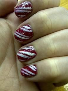 candy cane nail art candy cane nails nail art designs