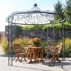 circular gazebo artistic circular metal gazebo garden and deco outdoor