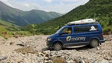 Road S Vw Multivan T5 Seikel 4x4 Přes Sedla Kavkazu