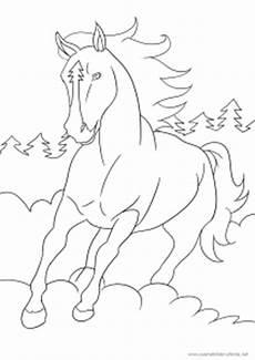 Ausmalbilder Viele Pferde Mein Drittes Ausmalbild Mit Pferd Kostenlos