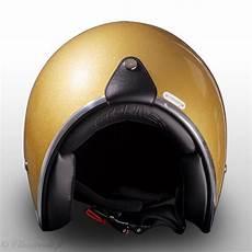 casque gold stormer pearl gold paillette casque jet vintage moto scooter