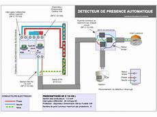 branchement detecteur de mouvement 5825 sch 233 ma 233 lectrique branchement du d 233 tecteur de mouvement documents en 2019