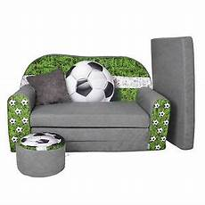 kindersofa football sofa kinderzimmersofa zum aufklappen