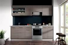 Küchenzeile 240 Cm Breit - k 252 che dave 240 cm k 252 chenzeile k 252 chenblock variabel