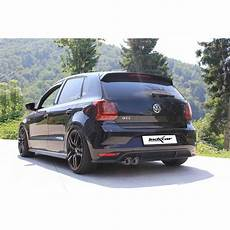 polo 6c gti volkswagen polo 6c 1 8 gti endrohre 2x80 racing edelstahl