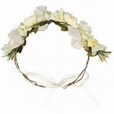 couronne de fleurs blanches id 233 ale pour un mariage ou