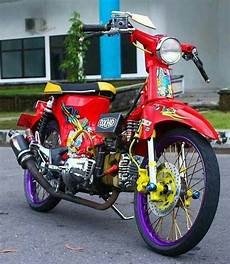 Modifikasi Motor Pitung by Modifikasi Pitung C70 Semarmoto
