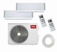 tcl inverter multisplit klimaanlage fma duo 2 x 2 5 kw