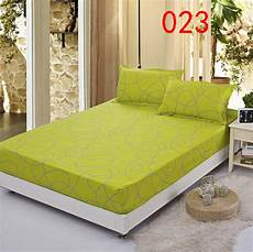 line polyester fitted sheet single double bed sheets
