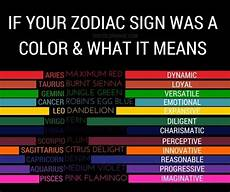 Sternzeichen Und Farben - what is the luckiest color for whose zodiac sign is