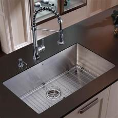 kitchen faucet sets vigo stainless steel undermount kitchen sink faucet combo set free shipping today overstock