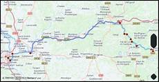 distance from bordeaux to sarlat la caneda maps