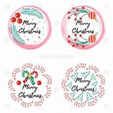 merry christmas stickers vector design download graphics vectors