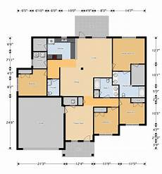 eglin afb housing floor plans eglin jnco 4br 2 5ba ada accessible duplex 2057 air