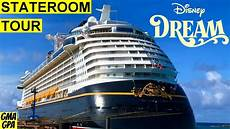 our disney dream cruise ship cabin tour inside deluxe stateroom 6501 magical porthole category