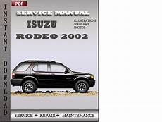 car repair manuals online free 2002 isuzu rodeo sport spare parts catalogs isuzu rodeo 2002 factory service repair manual download download