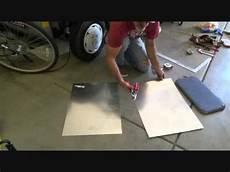how to cut sheet metal galvanized flashing youtube