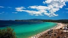 trani ammouda beach sithonia halkidiki youtube