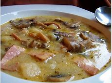 croatian mushroom soup_image