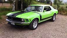 1970 ford mustang 351 coupe youtube