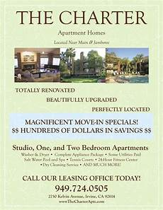 Apartment Rent Specials by Move In Specials Apartment Flyer Apartment Marketing