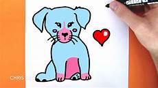 dessin facile comment dessiner un chien kawaii dessin facile 3