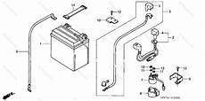 honda atv 2007 oem parts diagram for battery partzilla com