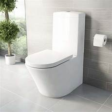 mode tate coupled toilet with soft seat