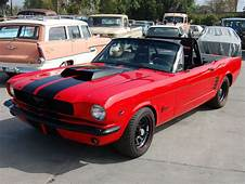 Charlie Sheens NASCAR 1966 Mustang Up For Charity Auction