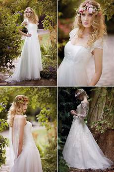 bohemian bridal style wedding dresses and accessories 4