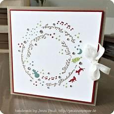 weihnachtskarten selbst gestalten card crafts