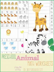 animal kingdom worksheets for kindergarten 14201 free prek animal themed math worksheets free homeschool deals