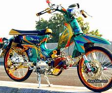 Modifikasi Motor Honda 70 by Modifikasi Motor C70 Kontes Racing Thailook Style