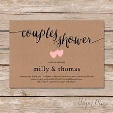 Wedding Shower Invitations For Couples