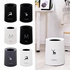 Mrosaa Household Waste Bins Simple Nordic by Nordic Style Waste Container Elk Pattern Creative Trash
