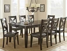 steve silver crosspointe dark espresso 9pc dining room set the classy home