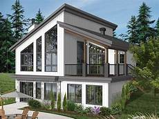 waterfront narrow lot house plans 027h 0505 waterfront house plan fits a narrow lot small