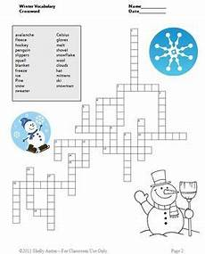winter crossword worksheets 19981 freebie enjoy this free winter printable crossword worksheet in appreciation for all
