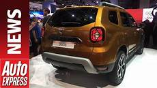 2018 dacia duster makes frankfurt bow will it sweep up