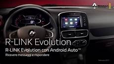 R Link Evolution Con Android Auto Ita