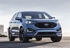ford edge versions with new st version ford edge gets edgier