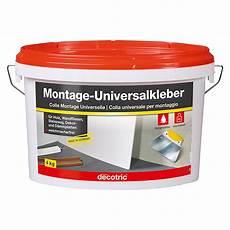 decotric universal montagekleber 4 kg gebrauchsfertig