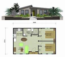 house plan with granny flat 2 bedroom telopea granny flat 53m2 bedroom house plans