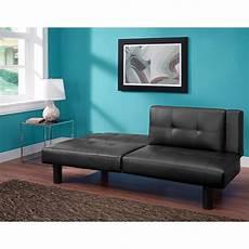 futon bed leather faux fold futon sofa bed sleeper