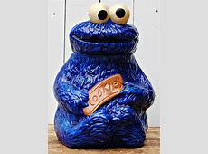 Vintage 1970s Muppets Cookie Monster Cookie Jar by