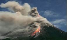 And Photos Recent Merapi Eruption Ash