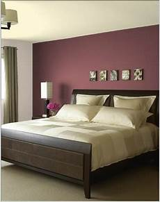 Wall Master Bedroom Room Color Ideas by Would A Burgundy Feature Wall Colour Bed In