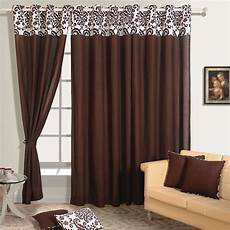 Brown Curtains by Buy Brown Color Solid Curtains With Readymade
